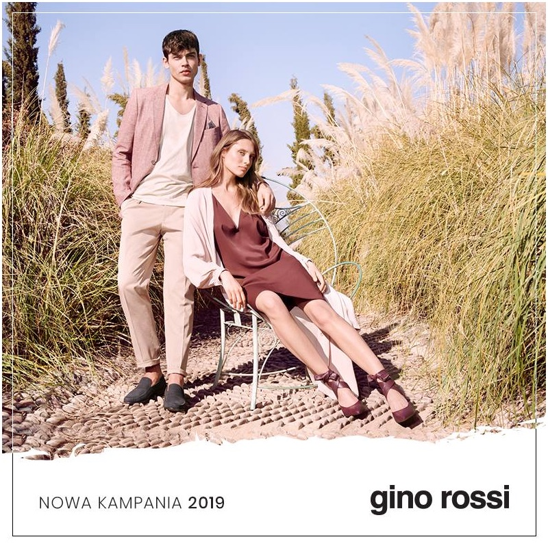 Magda Wunsche and Aga Samsel photograph Bart Taylor and Jo Kruk for Gino Rossi's spring-summer 2019 campaign.