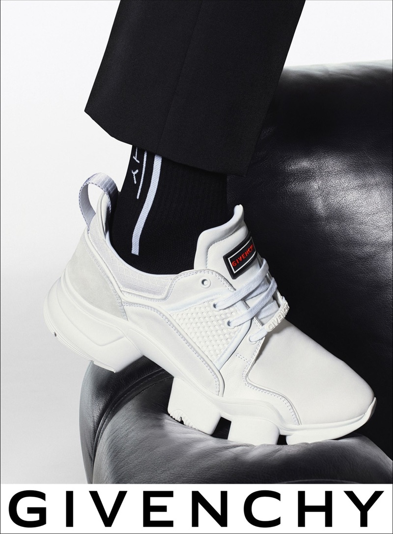 Givenchy features its sneakers in its spring-summer 2019 campaign.