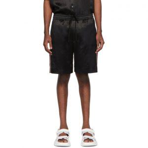 Gucci Black Chain Shorts
