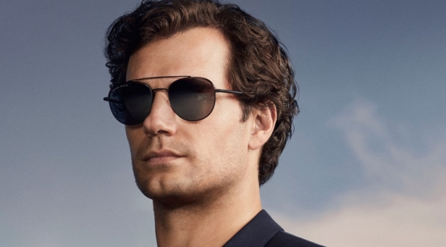 British actor Henry Cavill appears in BOSS' spring-summer 2019 eyewear campaign.