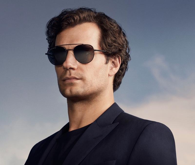 British actor Henry Cavill appears in BOSS' spring-summer 2019 eyewear campaign.