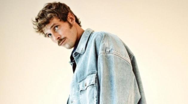 Hugo Villard Inspires in Easy Denim Looks for GQ France