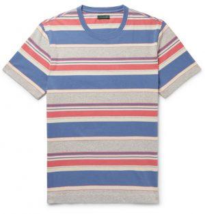 J.Crew - Always 1994 Striped Cotton-Jersey T-Shirt - Men - Multi