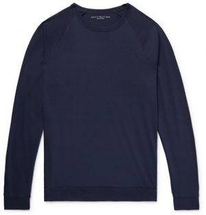 J.Crew - Destination Pima Cotton-Jersey T-Shirt - Men - Midnight blue