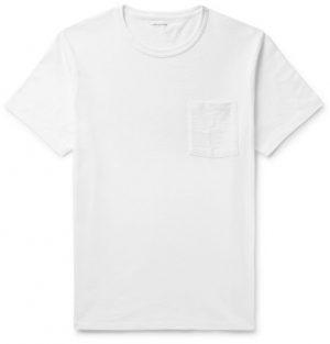 J.Crew - Slim-Fit Garment-Dyed Slub Cotton-Jersey T-Shirt - Men - White