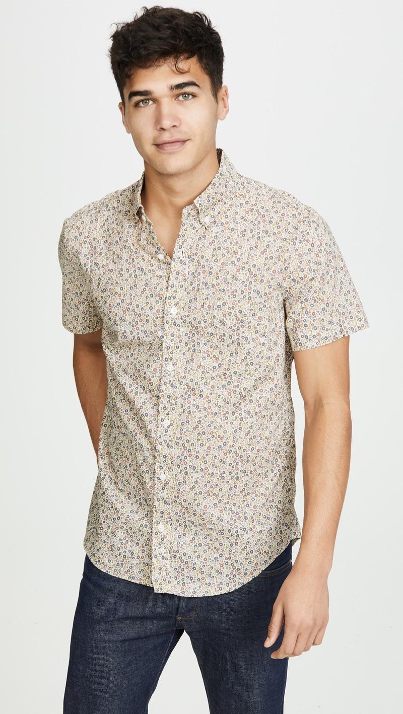 J.Crew Short-Sleeve Button-Down Shirt