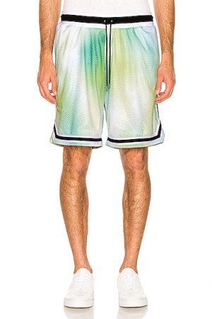 JOHN ELLIOTT Basketball Shirts in Green,Ombre & Tie Dye. - size XL (also in L,M,S)