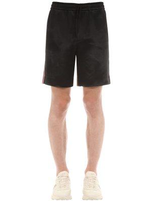 Japanese Acetate & Silk Shorts
