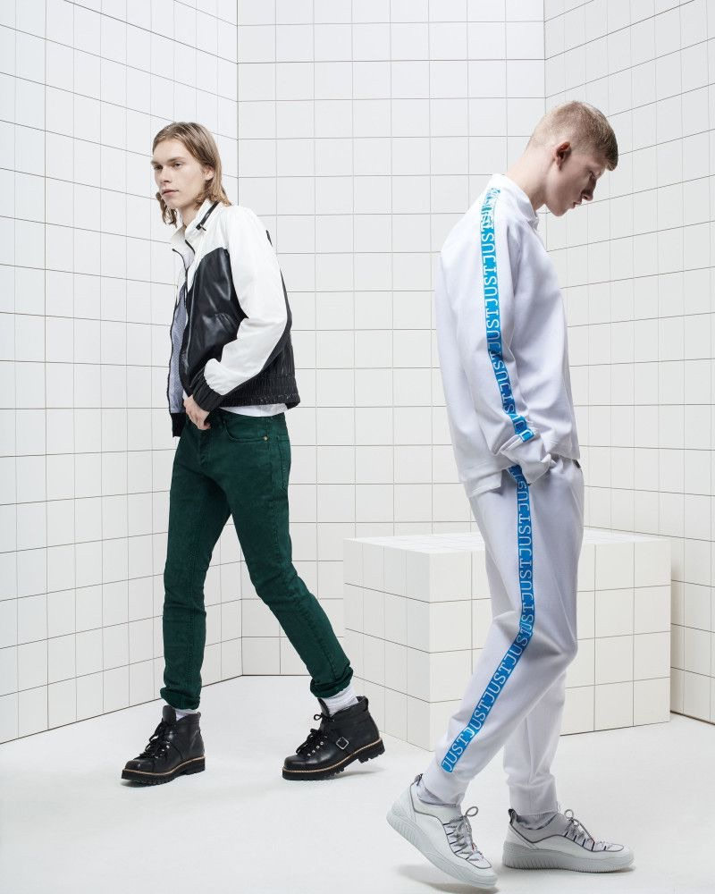 Just Cavalli enlists Kit Warrington and Connor Newall to star in its spring-summer 2019 campaign.