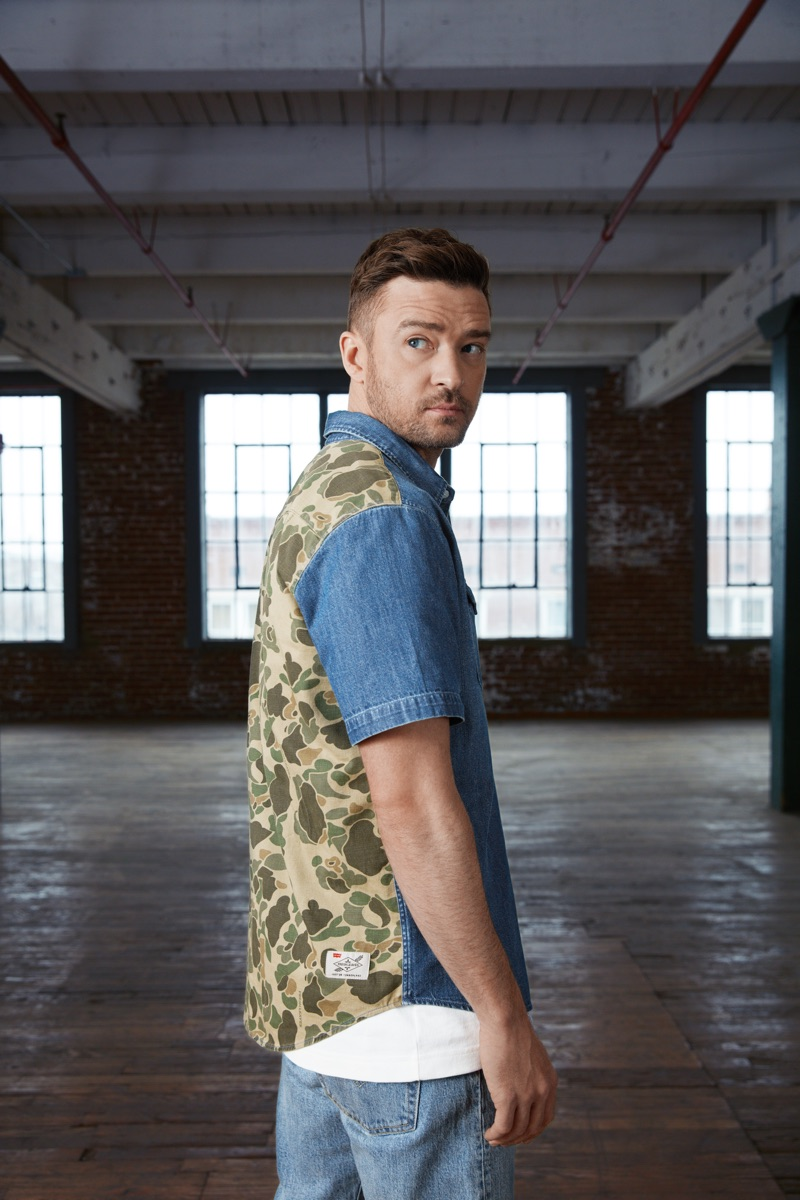 Justin Timberlake reunites with Levi's for a second collection from Fresh Leaves.
