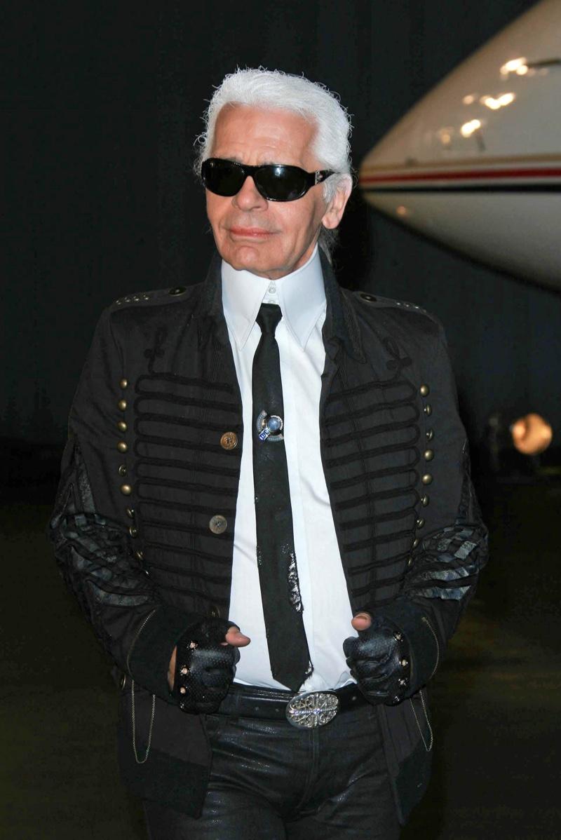 Karl Lagerfeld Designer Band Jacket