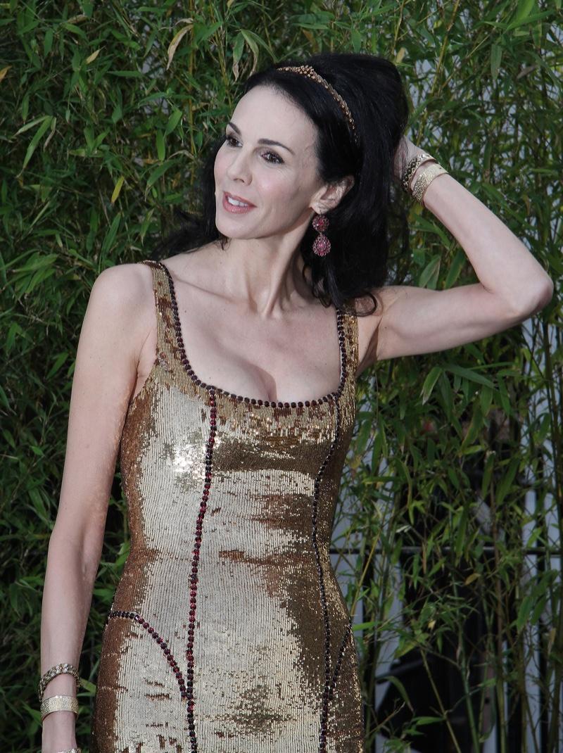 L'Wren Scott Designer Gold Dress