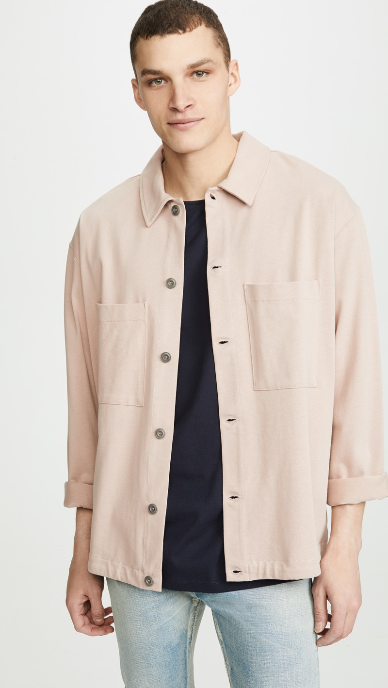 Lemaire Jersey Overshirt