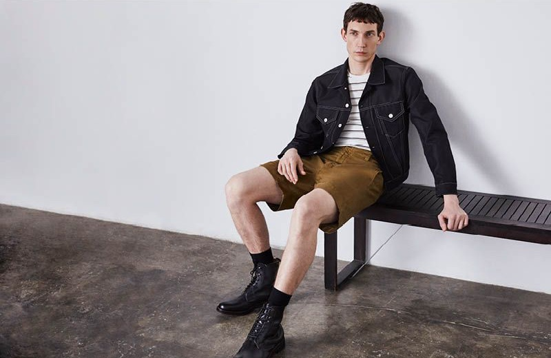 Thilo Muller dons essential spring style for Liberty London.