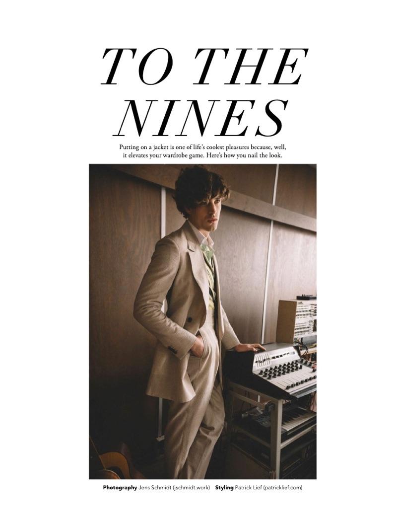 To the Nines: Louren Groenewald for Men's Folio Malaysia