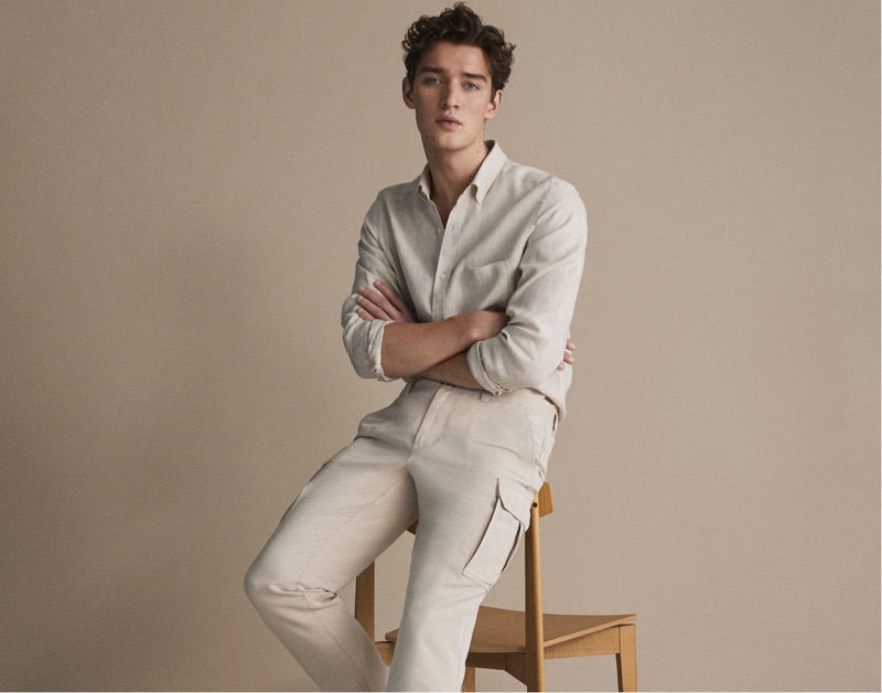 6ac7a6194 Massimo Dutti Spring 2019 Men s Linen Collection