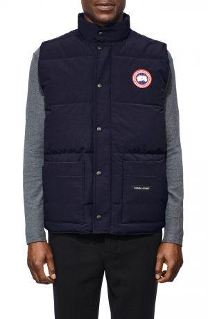 Men's Canada Goose Freestyle Regular Fit Down Vest, Size Medium - Blue
