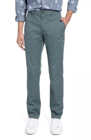 Men's Club Monaco Connor Trim Fit Stretch Cotton Chino Pants