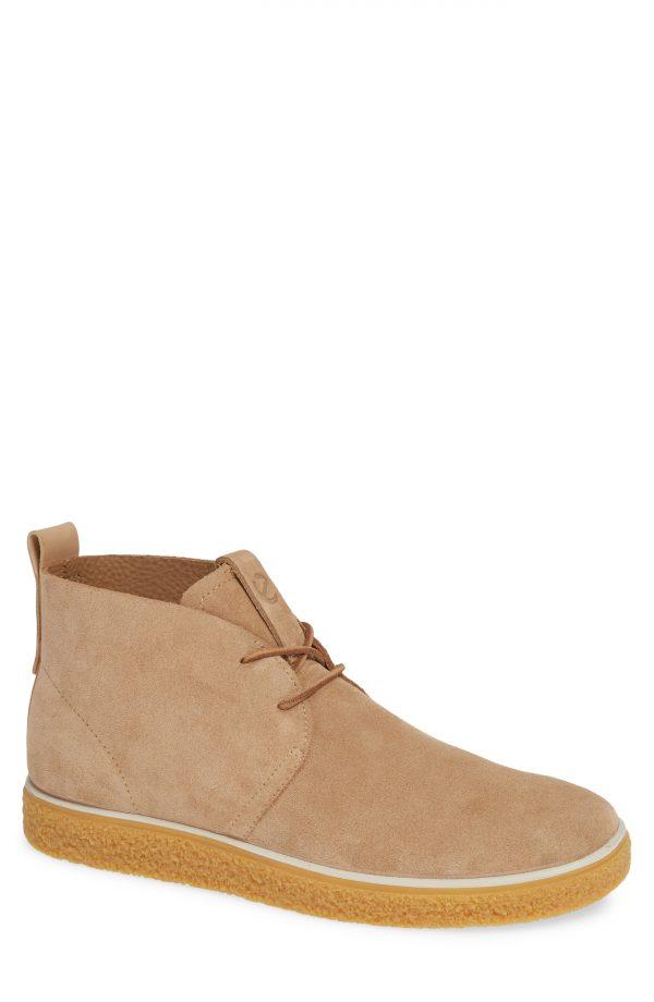Men's Ecco Crepetray Chukka Boot, Size 8-8.5US / 42EU - Brown