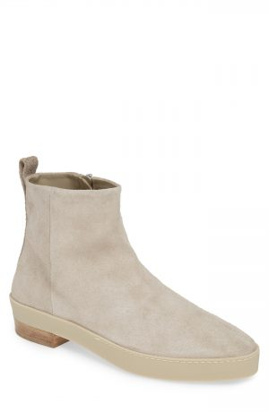 Men's Fear Of God Santa Fe Zip Boot, Size 40 EU - Grey
