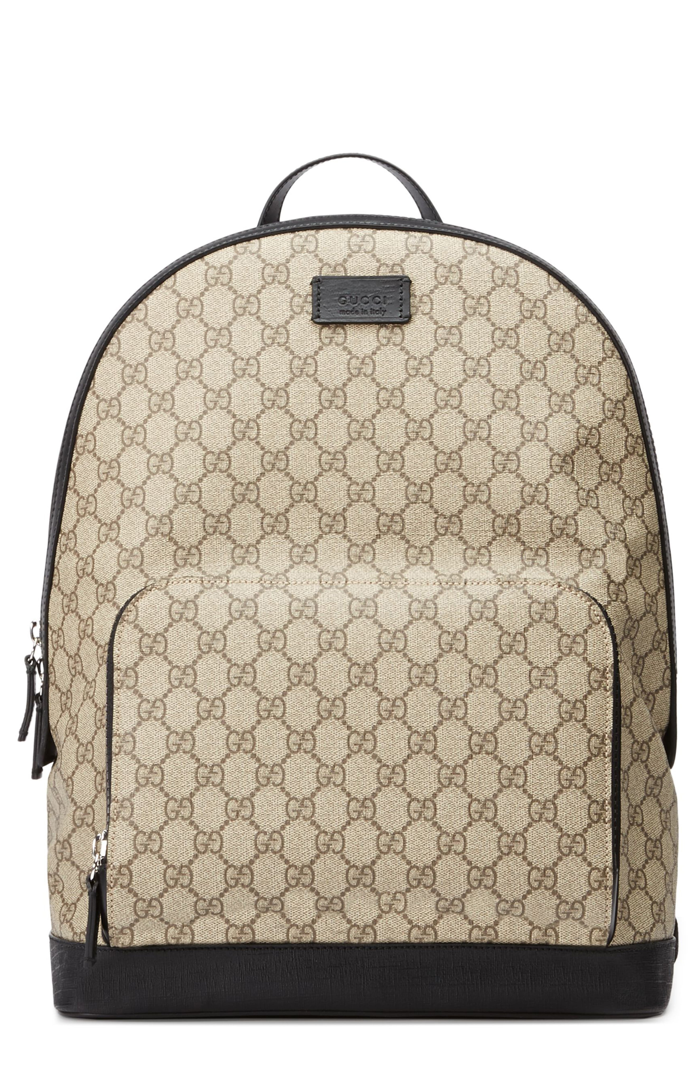f1ed944aa Men's Gucci Eden Canvas Backpack – Brown | The Fashionisto