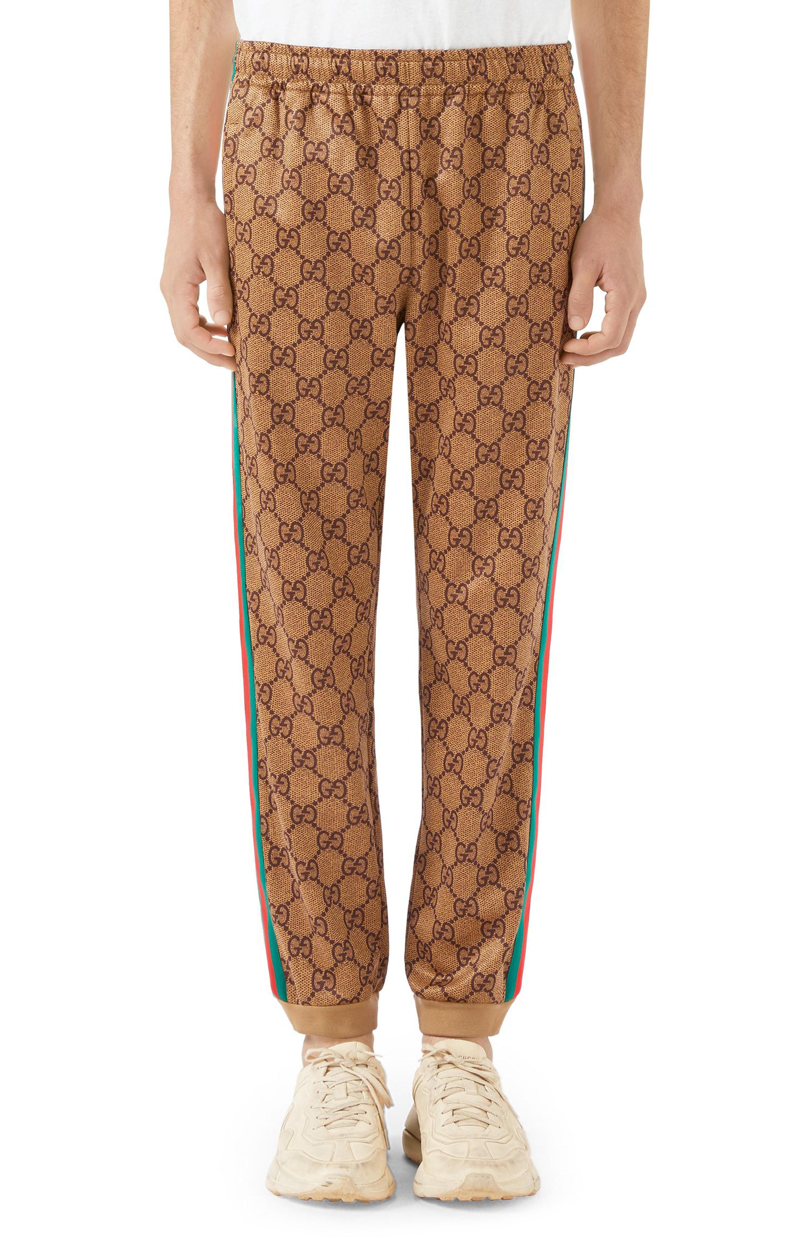 9ea077f3b Men's Gucci Print Tech Jersey Jogger Pants | The Fashionisto