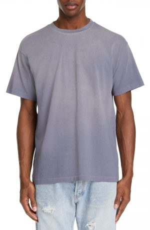 Men's John Elliott Sundrenched University T-Shirt, Size Large - Blue