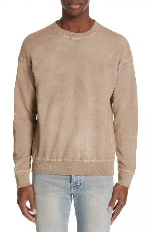 Men's John Elliott X Nordstrom Crewneck Sweatshirt, Size Medium - White