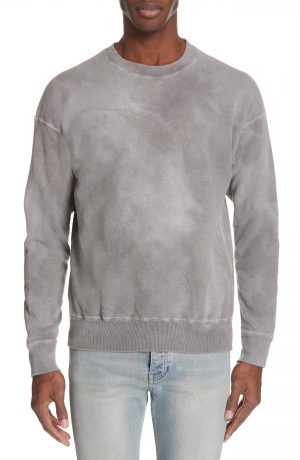 Men's John Elliott X Nordstrom Crewneck Sweatshirt, Size Small - White