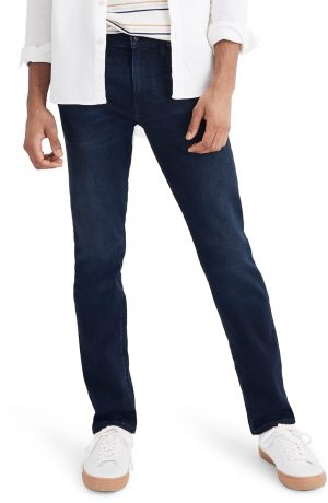 Men's Madewell Slim Fit Jeans, Size 30 x 32 - Blue
