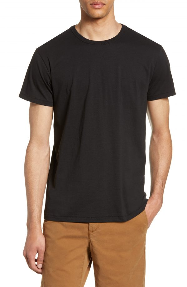 Men's Rag & Bone Classic Base T-Shirt, Size Small - Black