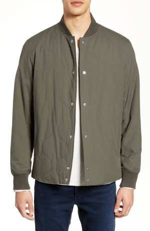 Men's Rag & Bone Focus Poplin Jacket, Size Medium - Green
