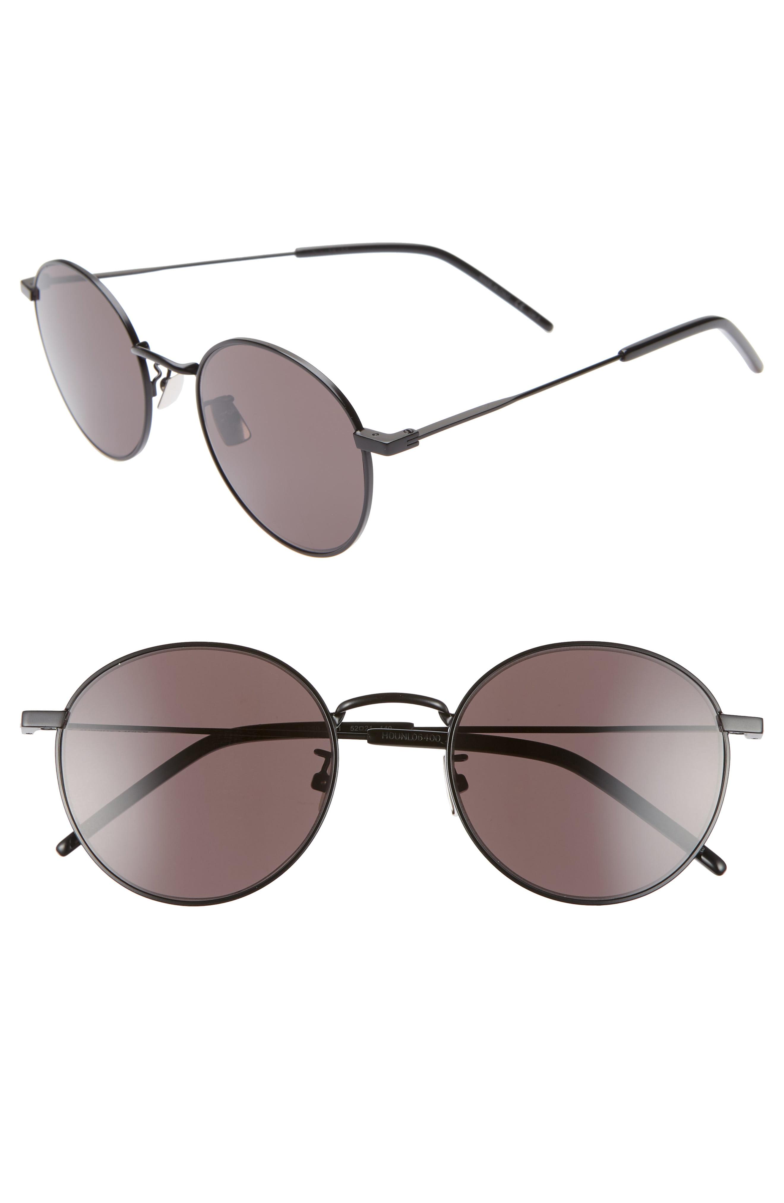 c67ea6a601 Men s Saint Laurent Sl 250 52Mm Sunglasses – Silver