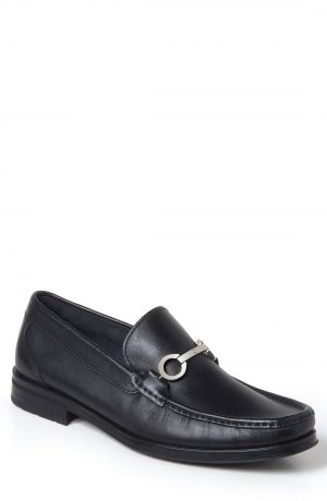 Men's Sandro Moscoloni Genoa Bit Loafer, Size 10 D - Black