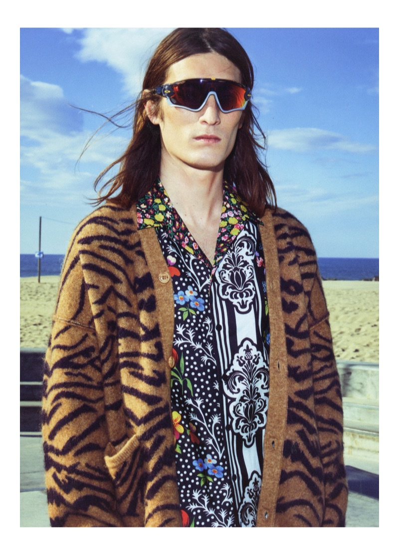 Niko Traubman Rocks Bold Prints for GQ Turkey