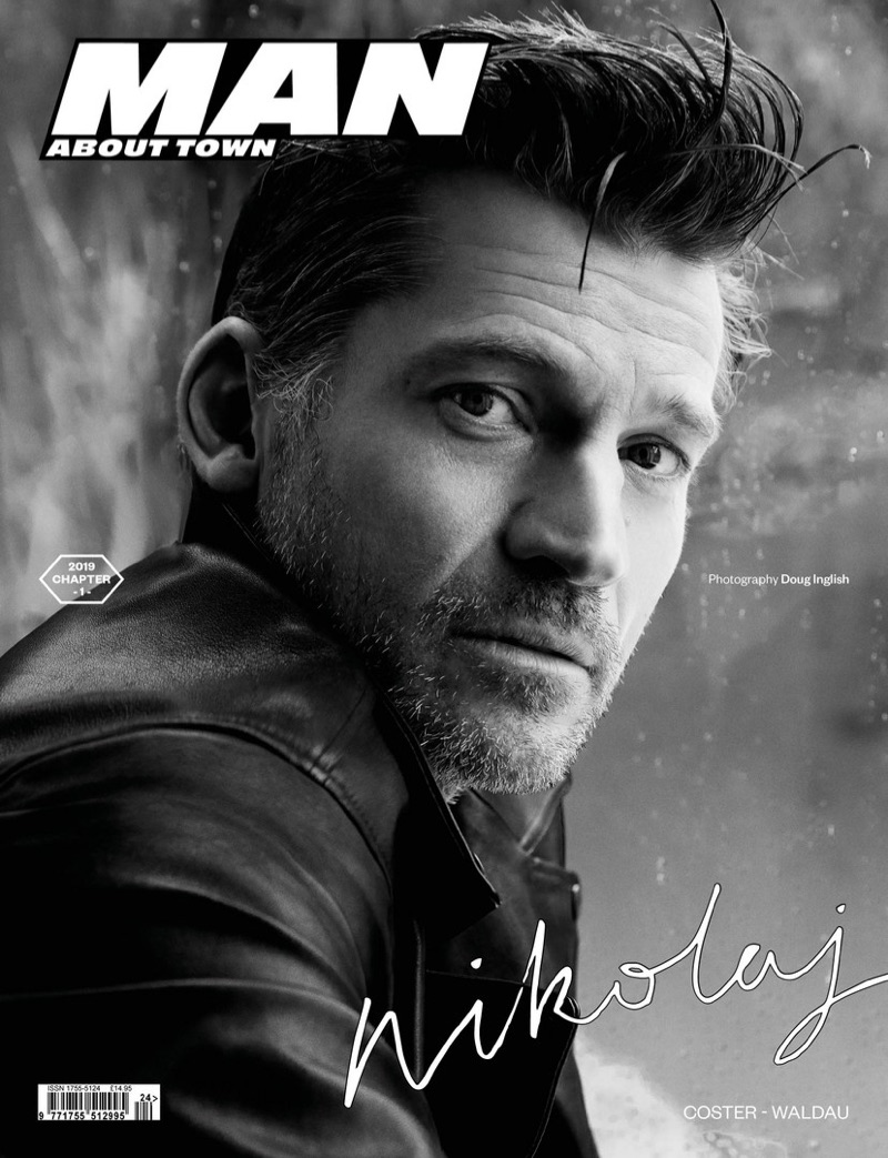 Nikolaj Coster-Waldau covers the most recent issue of Man About Town.
