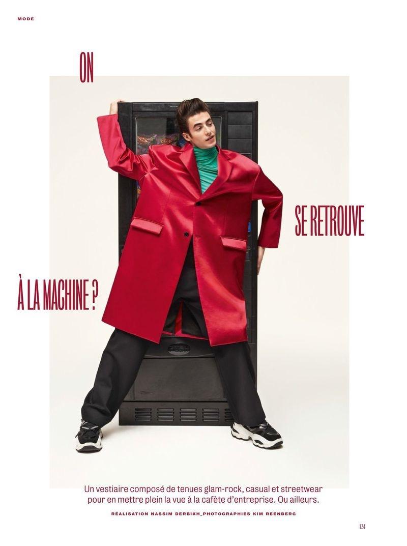 Oscar Kindelan Embraces Retro Attitude for GQ France