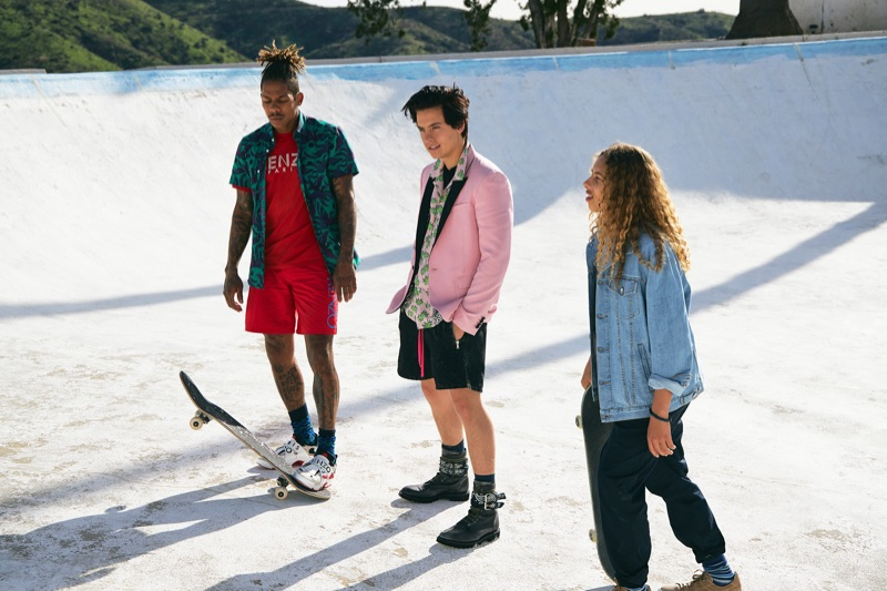 Cole Sprouse, Boo Johnson + More Sport Designer Style for Paper x Neiman Marcus Shoot