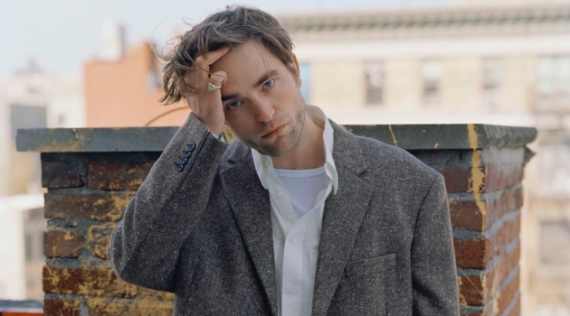 English actor Robert Pattinson connects with The Sunday Times Style magazine for a feature.