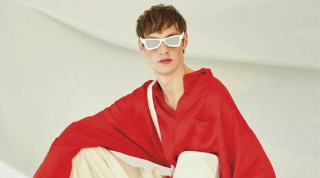 Roberto Sipos Embraces Quirky Style in Louis Vuitton for Esquire España
