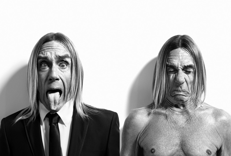 Iggy Pop photographed by Xevi Muntané for Schweppes