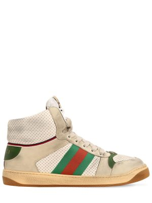 Screener Hike Leather High Top Sneakers