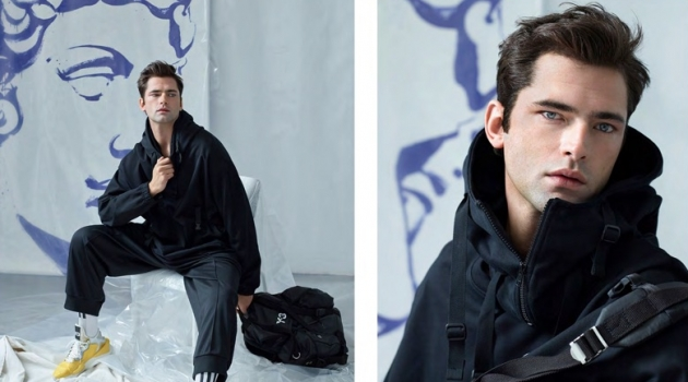 Sean O'Pry Inspires in Designer Style for Simons