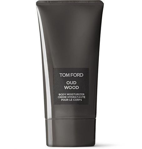 TOM FORD BEAUTY - Oud Wood Body Moisturizer, 150ml - Men - Black