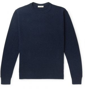The Row - Benji Slim-Fit Cashmere Sweater - Men - Navy