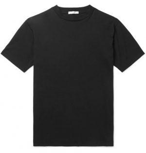 The Row - Ed Cotton-Jersey T-Shirt - Men - Black