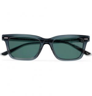 The Row - Oliver Peoples BA CC Square-Frame Acetate Polarised Sunglasses - Men - Navy