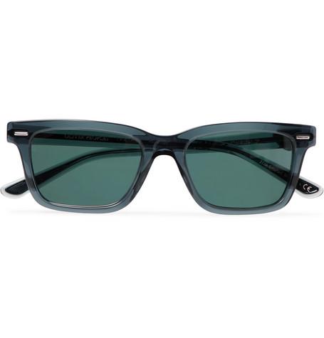 The Row - Oliver Peoples BA CC Square-Frame Acetate Polarised Sunglasses - Men - Navy