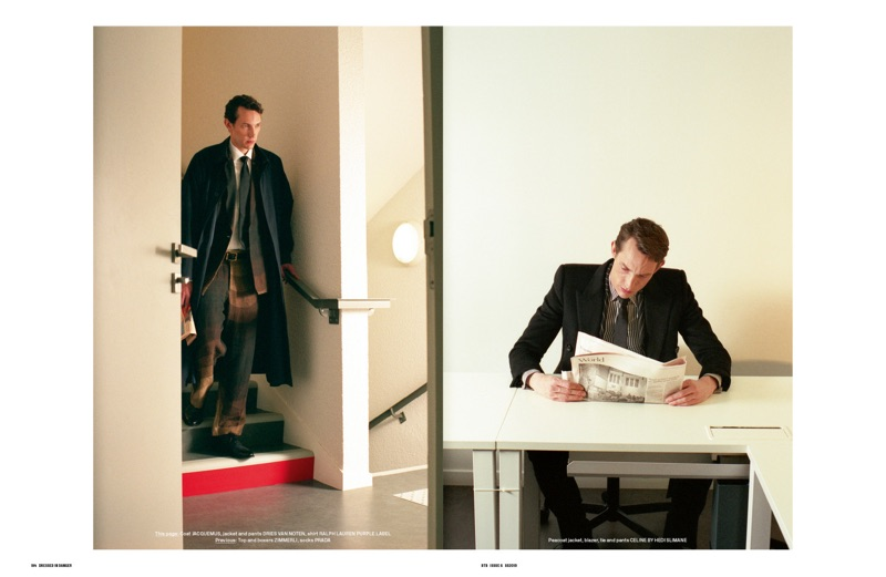 Dressed in Danger: Thilo Muller for Behind the Blinds