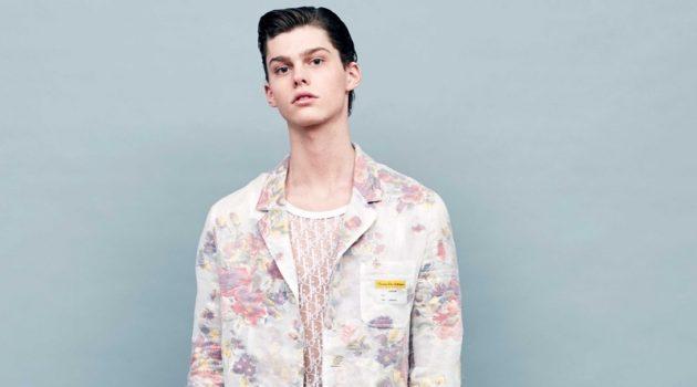 Thomas Smeele Models Dior Men for Life & Style México